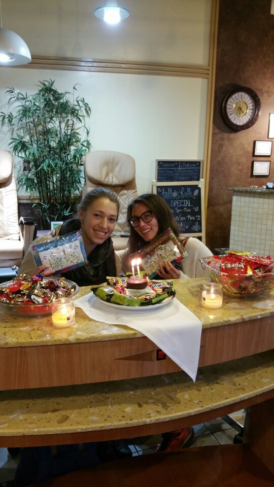 birthday at Millennium Nail & Spa