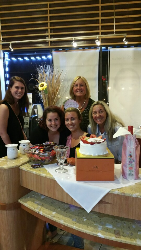Birthday at cake Millennium Nail & Spa